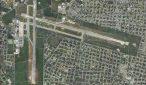 Aerial view of Merida International Airport. (PHOTO: googlearth.com)