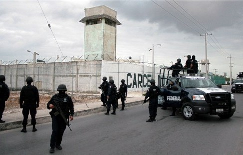 Ten inmates broke out of Cancun prison on Tuesday July 12. (PHOTO: afp.com)