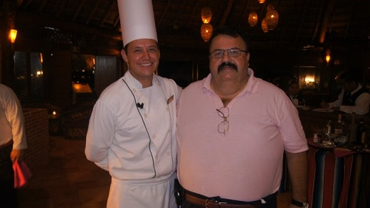 Chef Bob with Chef Javier Calderon