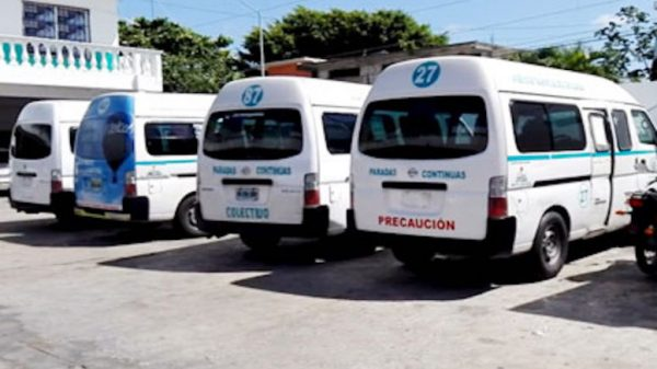 Combi fares have increased in Playa del Carmen. (PHOTO: riviera-maya-news.com)