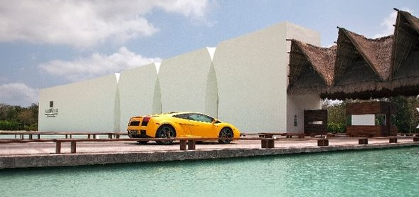Arrive at the Grand Velas Resort in style. (Courtesy Grand Velas Resorts)