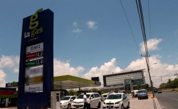 New La Gas station in Cancun. (PHOTO: riviera-maya-news.com)