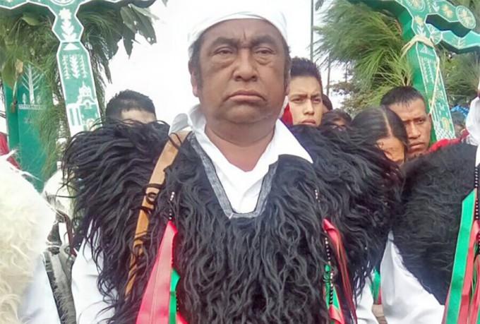 Domiingo López, mayor of San Juan Chamula was killed by unidentified men (Photo: lacapitalmx.com)
