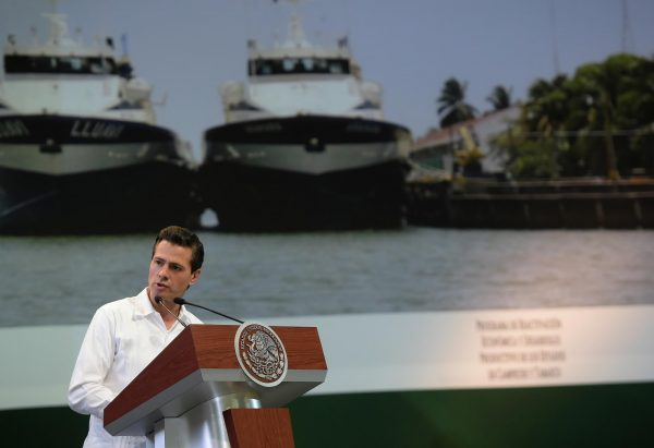 President Enrique Peña Nieto has predicted 'reactivation and regeneratio' for Campeche and Tabasco. (PHOTO: gob.mx)