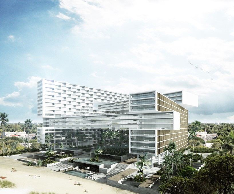 Renowned Mexican Architects Sordo Madaleno Propose Resort In Cancun