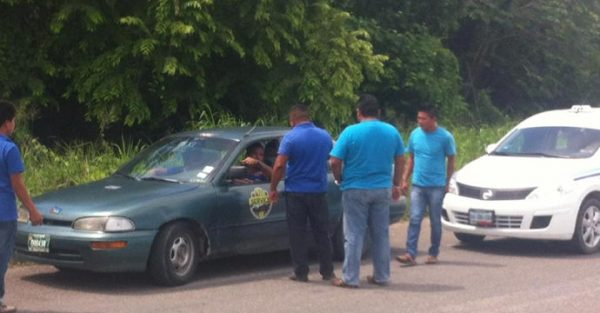Belize family was reportedly harassed by Bacalar taxi drivers. (PHOTO: breakingbelizenews.com)