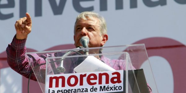 Andres Manuel Lopez Obrador is leading the polls in his third bid for president of Mexico. (PHOTO: neostuff.net)