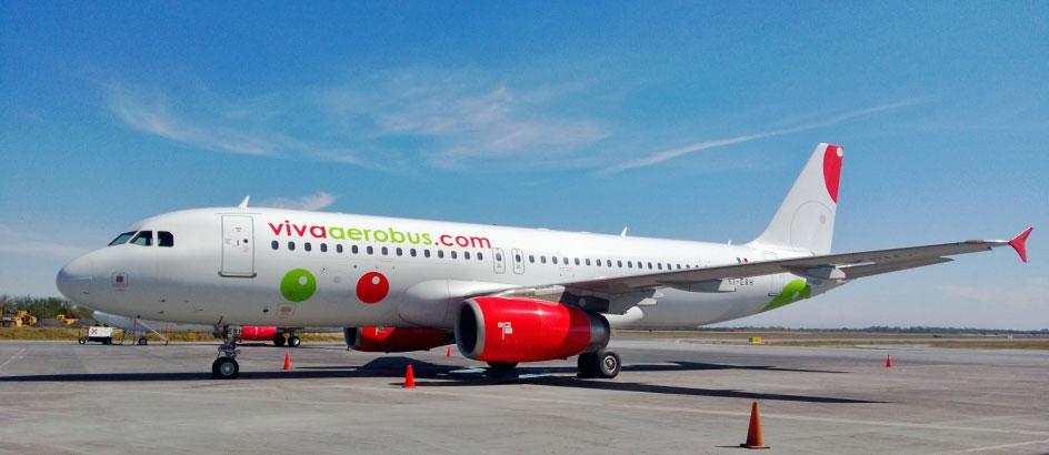 VivaAerobus A320 (courtesy VivaAerobus) - -