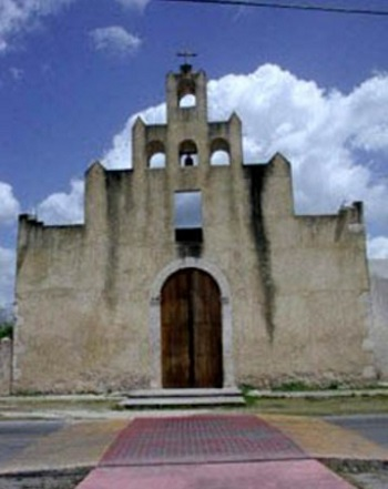 chicxulub iglesia