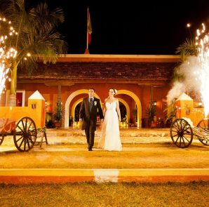 A wedding at Hacienda Dzibikak near Uman, Yucatan. (File photo)
