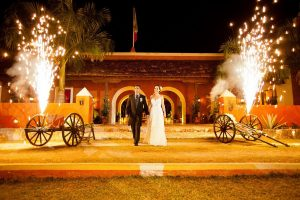 A wedding at Hacienda Dzibikak near Uman, Yucatan. (File photo)