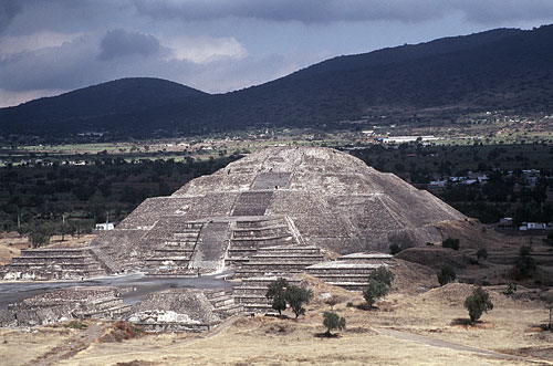 Pyramid of the Moon at Teotihuacan. (PHOTO: sacredsites.com)