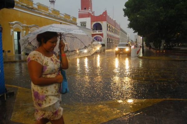 Another wet weekend is forecast for Merida. (PHOTO: sipse.com)