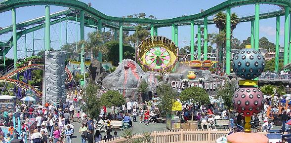 Dreamworks theme park rendering.