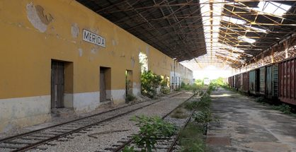 The former railway platform would be renovated. (PHOTO: granparquelaplancha.org)