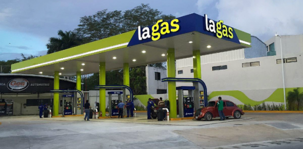 La Gas, an independent service station chain, is already operating in Merida, Cancun and Campeche, and plans to expand in Mexico. (PHOTO: panampost.com)