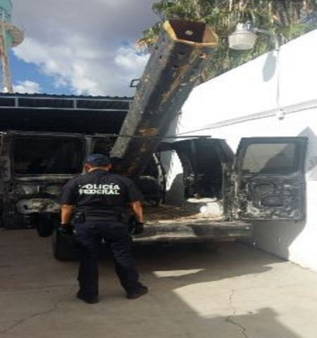Smugglers used this air cannon to launch packs of marijuana across the border, according to Mexican authorities. (PHOTO: businessinsider.com)