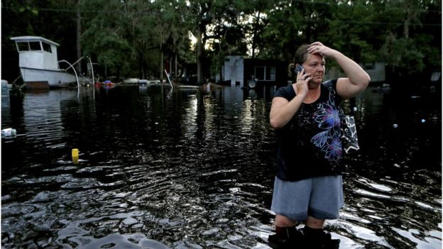 Steinhachee, Florida (Photo: BBC / AP)