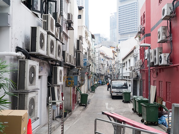 Air Conditioner Alley (Photo: Google)