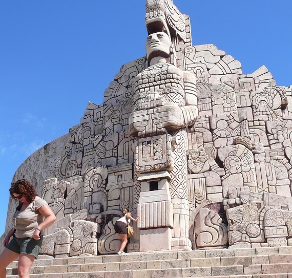Merida's Monumento de la Bandera. (PHOTO: Bob Schulman)