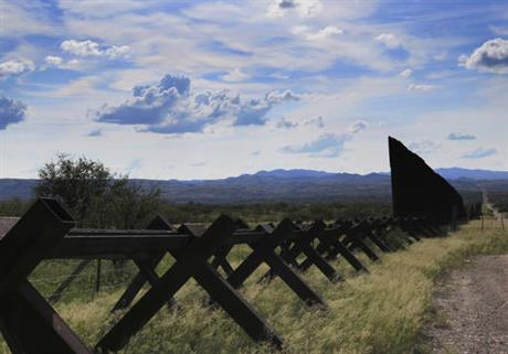 View of the U.S.-Mexico border near Nogales, Ariz. (PHOTO: ap.org)