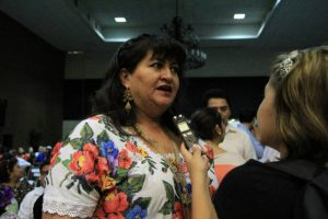 Former Tekax mayor Carmen Navarrete Navarro is one of the mayors accused of diverting public funds. (PHOTO: sipse.com)