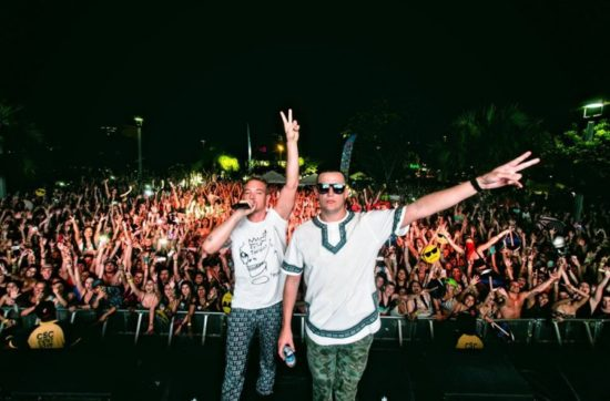 Diplo's Mad Decent shown at a previous event. (PHOTO: Your EDM)