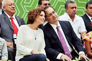 Fugitive ex-Gov. Javier Duarte of Veracruz with his wife, Karime Macías Tubilla. (PHOTO: mexiconewsdaily.com)