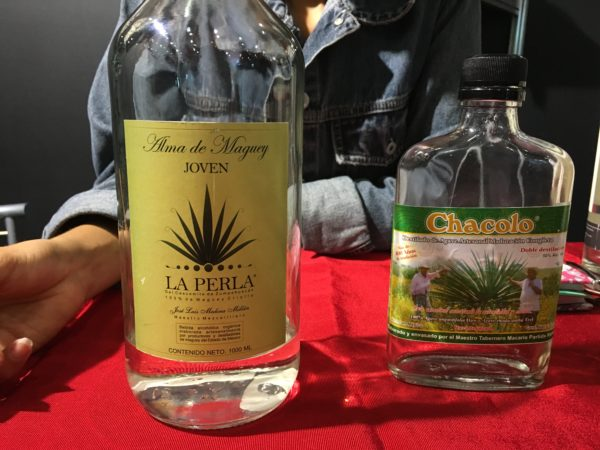 "Labels of mezcal type beverages may have to change the name to ""aguardiente de agave."" (PHOTO: fronterasdesk.org)"