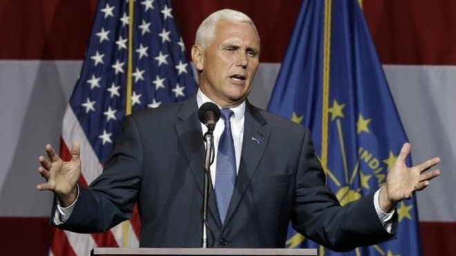 U.S. Republican vice presidential candidate Mike Pence (Photo: AP)