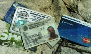 ID's of a subject wanted for questioning in the Telchac murder-drowning. (PHOTO: reporteroshoy.mx)