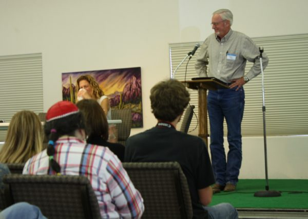 Migration is theme of poetry conference. (PHOTO: Arizona Sonora News Service)