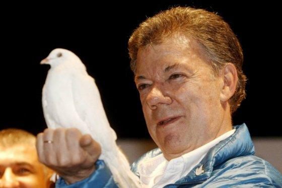 Colombian President Juan Manuel Santos, Nobel Peace Prize winner. (PHOTO: elespectador.com)