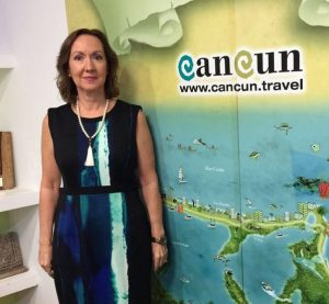 Lizzie Cole Guerrero, new director of Cancun's Visitors Bureau. (PHOTO: breakingtravelnews.com)