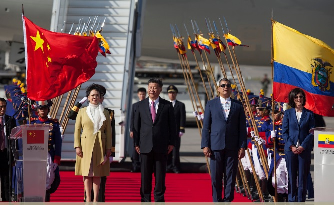 President Xi Jinping attends a Pacific Rim summit to Ecuador (Photo: AP/Ana Buitron)