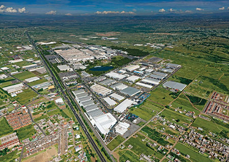 Massive industrial park complexes such as this one in Puebla could be impacted by the U.S. election. (PHOTO: Site Selection)