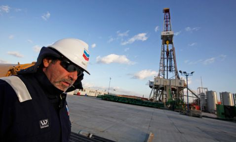 Chevron deepwater oil exploration. (PHOTO: 24horas.com)