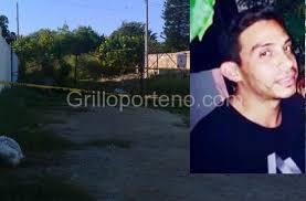Murder victim Rafael Aristi Gasque and the vacant lot where his body was found. (PHOTO: grilloporteno.com)