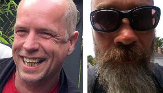Roger Corbett, left, and Brian Slater. (PHOTOS: facebook.com)