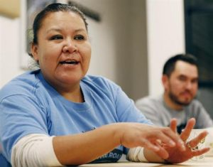 Juana Alvarez, a housekeeper and undocumented migrant to the U.S. (PHOTO: ap.org)