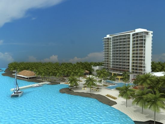 Rendering of the new Westin Hotel Cozumel.