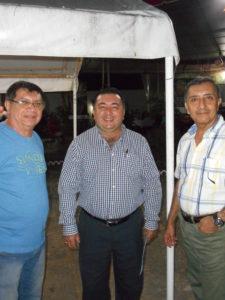 Arturo Novelo Dorantes, center. (PHOTO: Robert Adams)