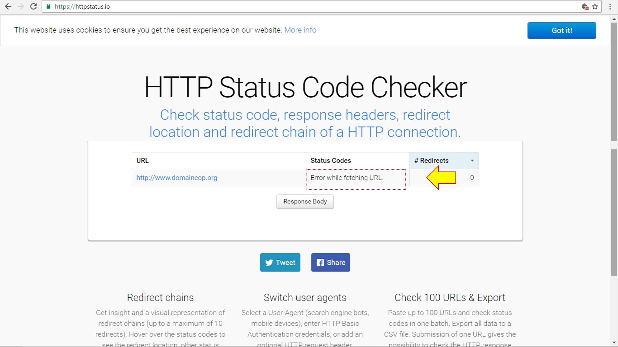 status-code-checker