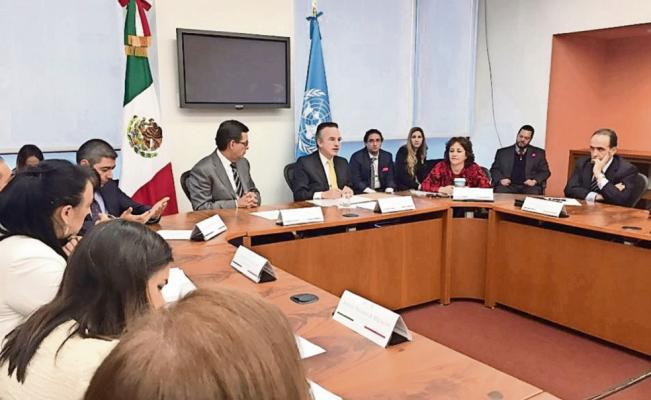 Representatives of the United Nations Subcommittee on Prevention of Torture (SPT) visited Mexico for the second time. (Photo: El Universal)