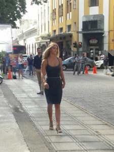 Model Nina Agdal was filmed in Merida to promote tourism. (PHOTO: yucatan.com.mx)