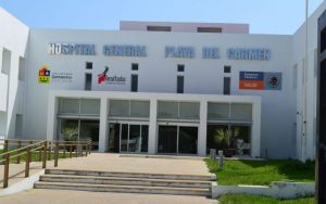 Playa del Carmen General Hospital. (PHOTO: tabascohoy.com)