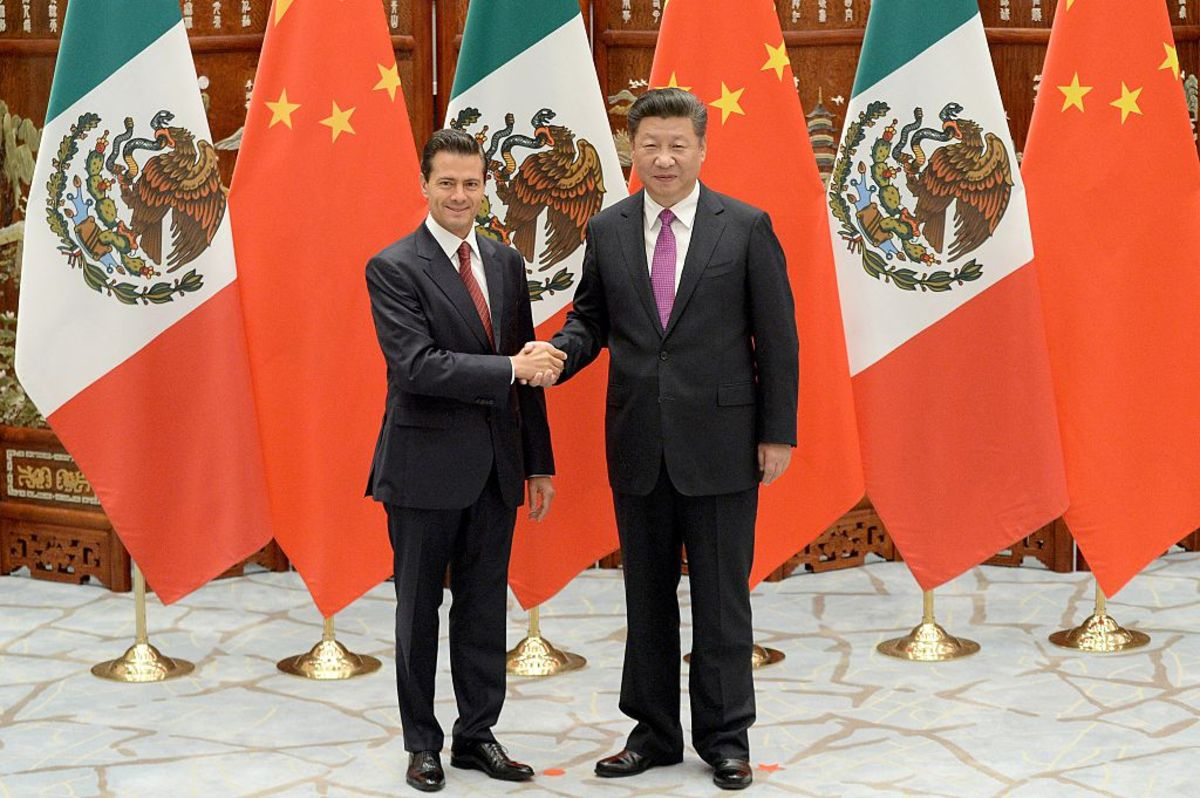 Mexico and China Are Very Different Trading Partners (Photo: WANG ZHOU - POOL/GETTY IMAGES)