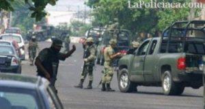 Veracruz shootout left 14 gunmen dead. (PHOTO: Metatube)