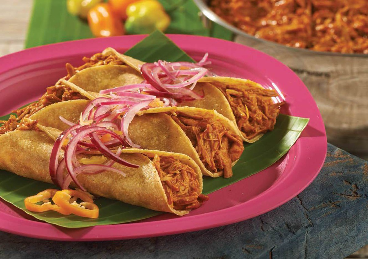 Tacos de Cochinita Pibil (Photo: Tupperware)