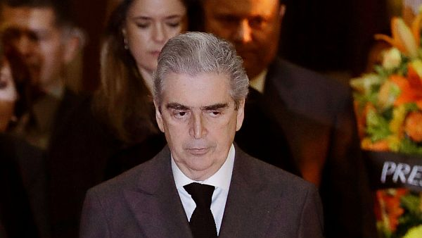 Mexican Secretary of Culture Rafael Tovar y de Teresa, a diplomat, historian and promoter of the arts, died Saturday, Dec. 10, 2016, at age 62, the Culture Ministry announced. (AP Photo/Rebecca Blackwell)